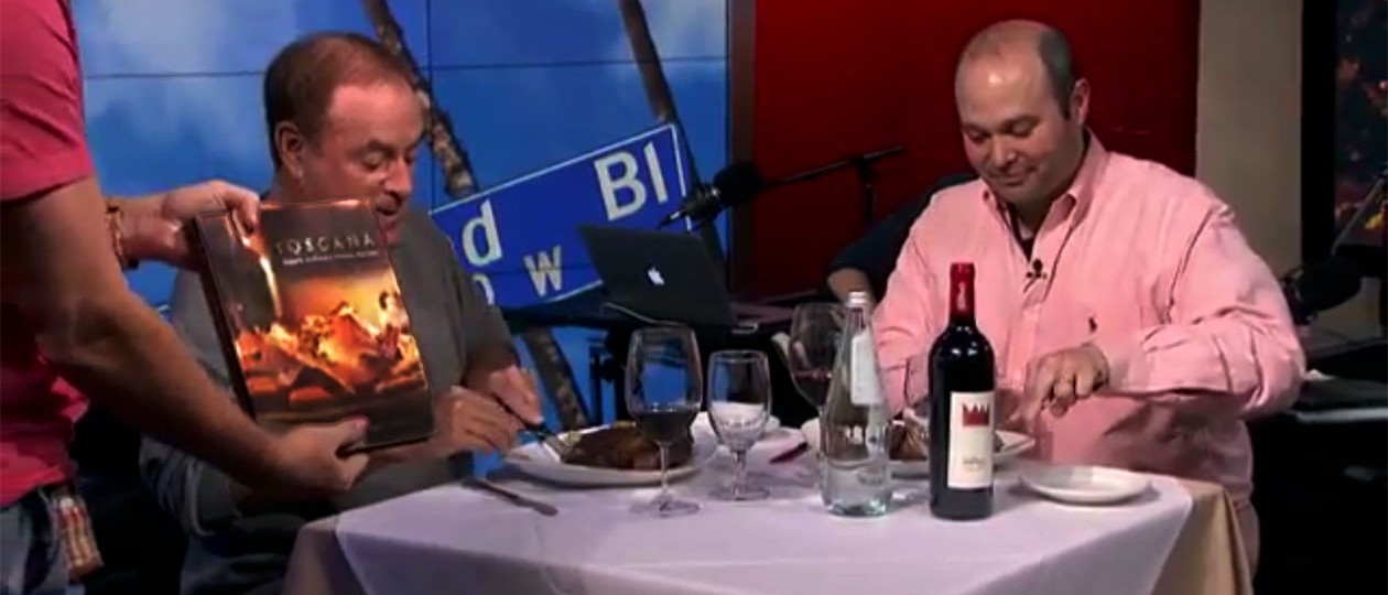 """Metti, una sera a cena"" – Al Michaels love "" Toscana"""