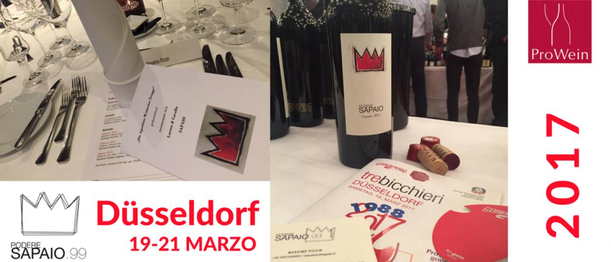 Podere Sapaio presents Volpolo 2015 at Dusseldorf's Prowein Fair