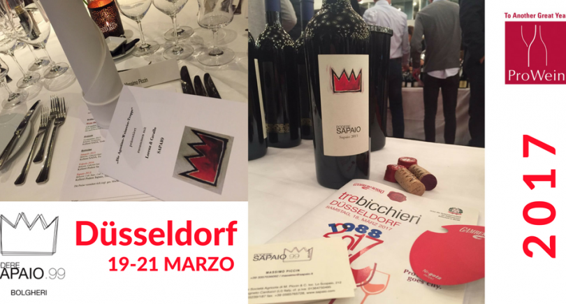 Podere Sapaio presents Volpolo 2015 at Dusseldorf's Prowein Fair