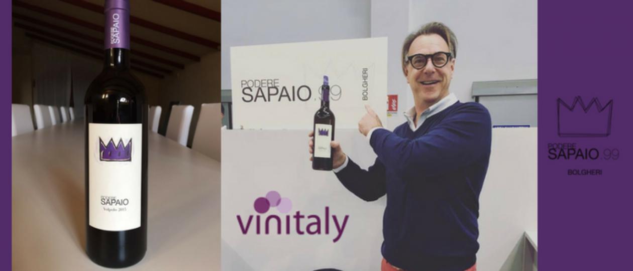 Podere Sapaio at Vinitaly 2017