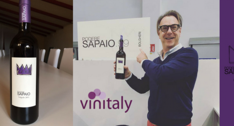 Podere Sapaio at Vinitaly 2017