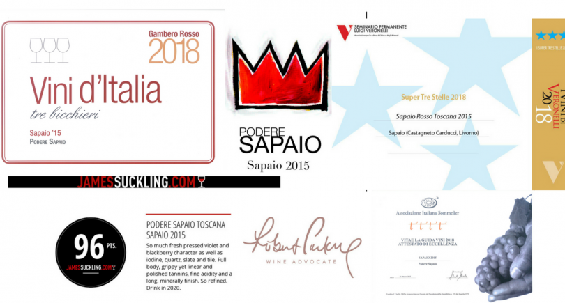 Sapaio 2015, a successful wine!