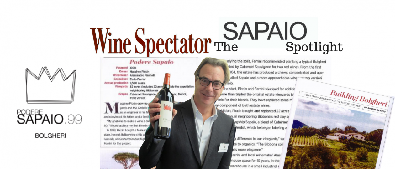 WINE SPECTATOR: Building Bolgheri. Seven producers showcase the region's diversity.