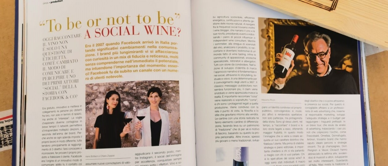 To be or not to be a social wine?